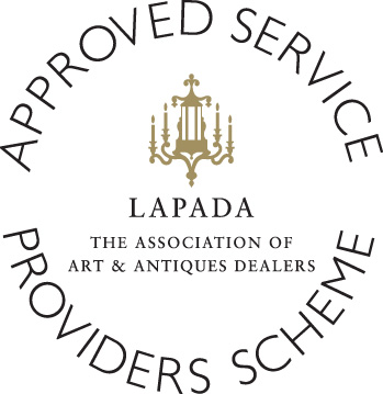 LAPADA logo ASPS gold